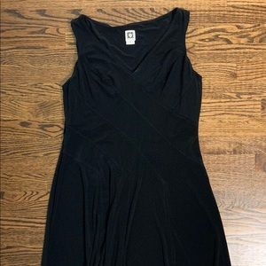 Black stretchy dress